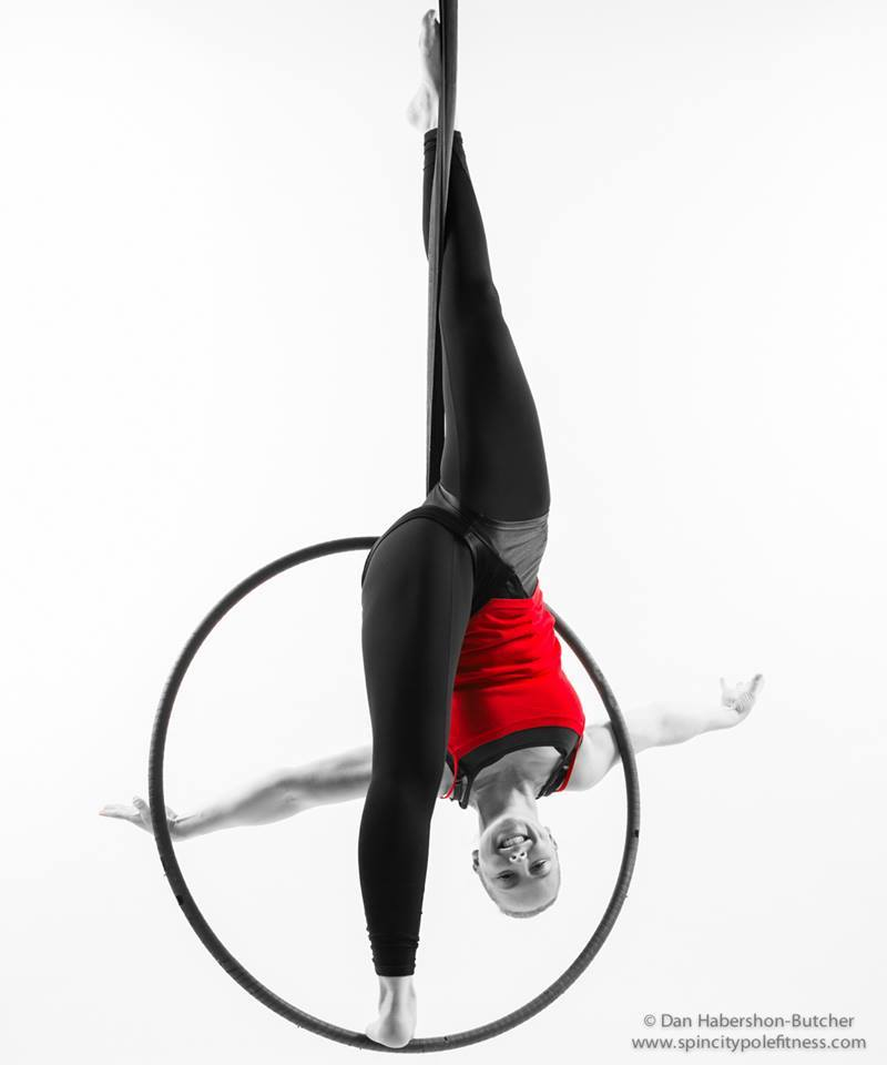 Aerial Hoop Classes - Advanced Level