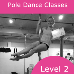 Pole Dance Classes Intermediate- Advanced