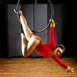 aerial hoop photoshoot